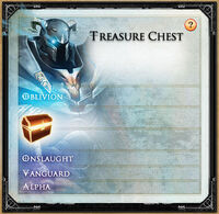Treasure Chest Menu