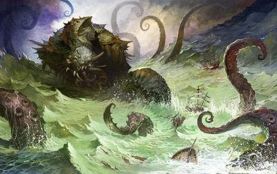 Monster kraken large