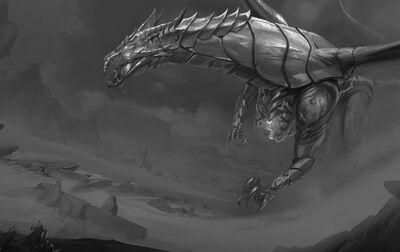 Monster chromus large dead