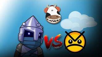 Castle Crashers - Maxed Magic VS All Bosses (Buzzsaws) - Madcowe