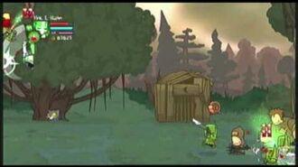Castle crashers green knight at the marsh prt2