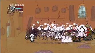 Castle crashers solo insane prt21 Skeleton