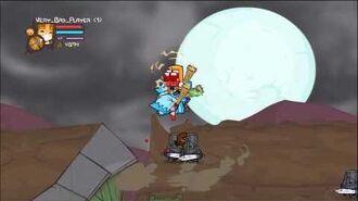 Castle Crashers Full moon Insane Mode part 2. No potions.