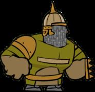 Beefy royal guard