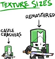 Texture sizes difference