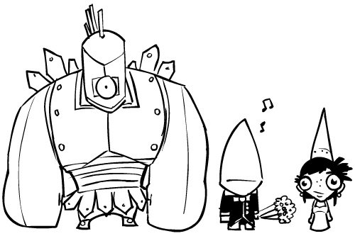 image 37710 danpaladin castle crasher cyclops n groom jpg rh castlecrashers wikia com castle crashers characters castle crashers coloring pages of dragoart - Castle Crashers Coloring Pages