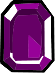 Square Purple Gem