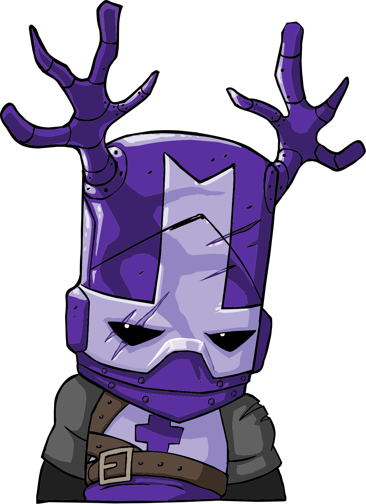 How To Draw Knight from Castle Crashers ✎ YouCanDrawIt ツ 1080p ... | 1677x1218