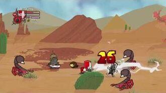 Castle Crashers Insane Mode (Solo) Desert