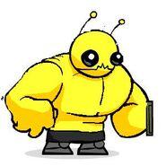 Beefy alien