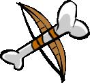 Skeleton bow