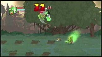 Castle crashers green knight at the marsh prt1