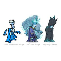 Diseños del Rey Helado