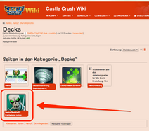 Kategorie Decks Castle Crush Wiki FANDOM powered by Wikia