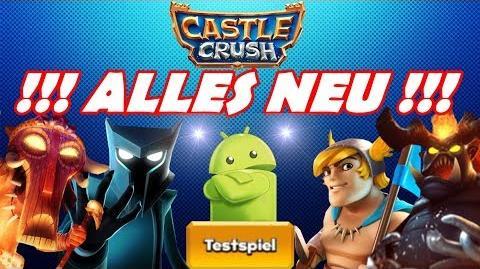 Castle Crush Update - Testspiele und Balance-Änderungen