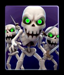 Skeletons Swarm