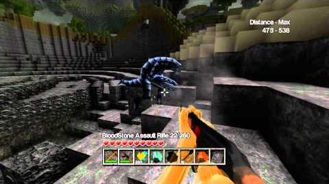 CastleMiner Z Aliens in Update 1