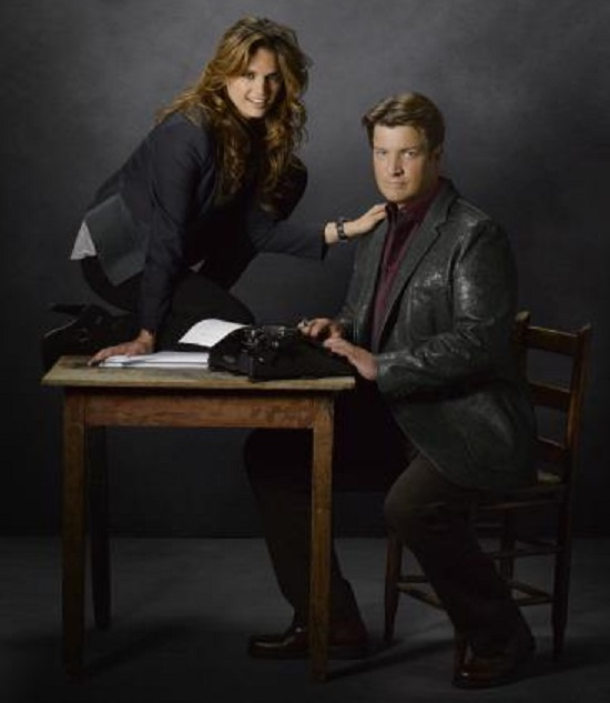 castle and beckett dating in real life