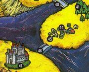 Dracula's Castle NES Game Atlas