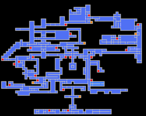 Symphony of the Night - Map - 01