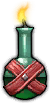 Fire Oil Flask Icon