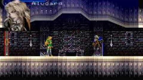 Castlevania SOTN Another Maria scene
