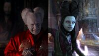 Dracula & Laura haircut