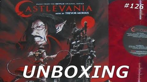 Castlevania Music From The Netflix Original Series 2хLP - Unboxing 126