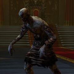 Captura de pantalla de zombi en <i><a href=