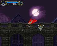 Alucard Jump Kick Variation