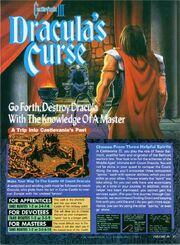 Nintendo Power - Castlevania III Dracula's Curse Guide