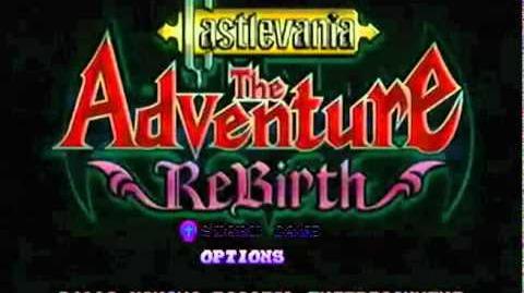 Castlevania The Adventure ReBirth - Gameplay Intro