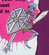 NP Simon's Quest Skeleton Knight