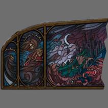 Gabriel Stained Glass Window