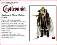 Alucard Action Figure Profile