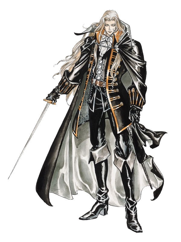 Image result for alucard castlevania official artwork
