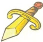 SQ Gold Dagger