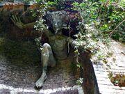 Spriggan sculpture by Marilyn Collins