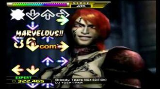 Dance Dance Revolution X- Bloody Tears IIDX Edition