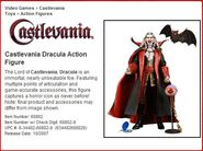 Dracula Action Figure Profile