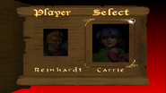 Castlevania (N64) - Name Entry Screen - 02