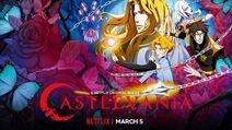 Castlevania season 3 promotional art
