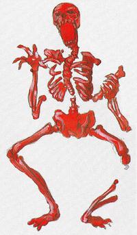 Super Castlevania IV - Red Skeleton - 01