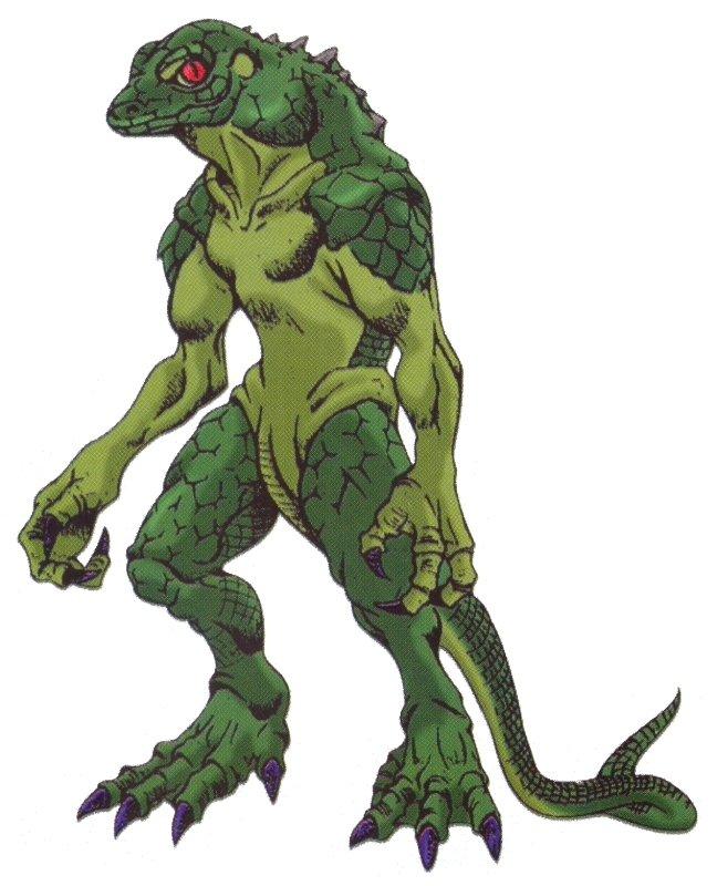 Resultado de imagem para lizard man