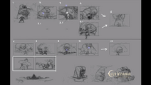 Ogre Fight Storyboard