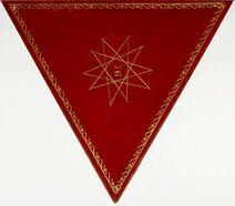 Triangular book cover