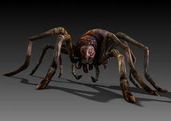 LoS Spider rendered