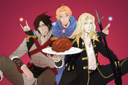 Castlevania happy birthday by poojipoo-dbors5b