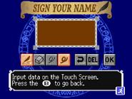 Dawn of Sorrow - Name Entry Screen - 02
