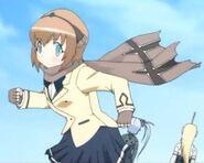 Kokoro in School Uniform